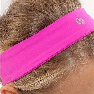 Lululemon hot pink headband